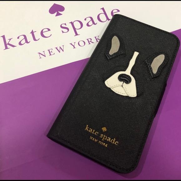 the latest 5bbda 19e38 Kate Spade ♠️ Antoine French Bulldog iPhone 7 Case NWT